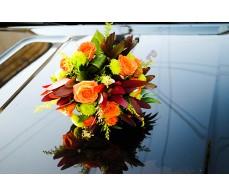 Aranjament floral pentru masina cu minirose M 01