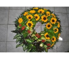 Coroana cu floarea soarelui C08