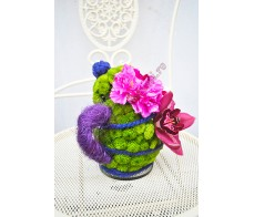 Ceainic din flori FG02
