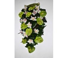 Jerba cu anturium si orhidee J01